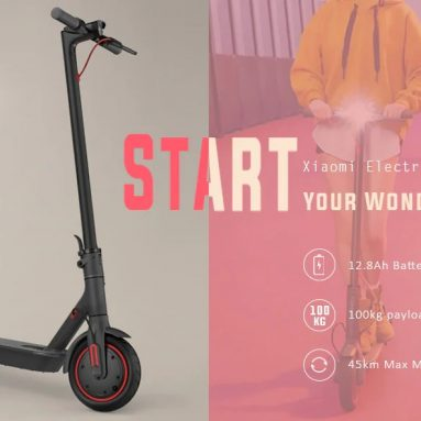 Xiaomi Mijia Electric Scooter Pro 511KM Mileage 45ah 배터리 EU 버전 EU PL WAREHOUSE 쿠폰 포함 € 12.8