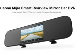 $66 with coupon for Xiaomi Mijia 5 inch Smart Rearview Mirror Car DVR from GearBest