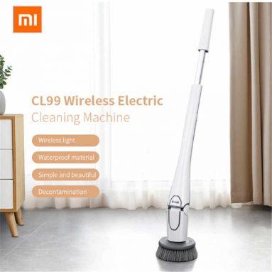 94 דולר עם קופון לשואב חשמלי אלחוטי רב תכליתי Xiaomi Mijia CL99 עם 3 מברשות מבית TOMTOP