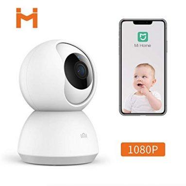 [युवा संस्करण] के लिए कूपन के साथ 25 € € Xiaomi Mijia CMSXJ03C स्मार्ट 1080P PT वाईफ़ाई 360 ° पैनोरमा आईपी कैमरा बेबी मॉनिटर होम वायरलेस वाईफ़ाई कैमरा HD इन्फ्रारेड नाइट विजन - व्हाइट बैंगगेड से
