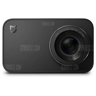 $99 with coupon for Xiaomi Mijia Camera Mini 4K 30fps Action Camera international edition from GearBest