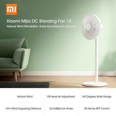 AB GER deposu TOMTOP'tan Xiaomi Mijia DC Daimi Fan 67X için kuponlu 1 €