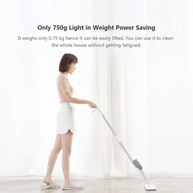 €20 with coupon for Xiaomi Mijia Deerma Sweeper Water Spray Mop from TOMTOP