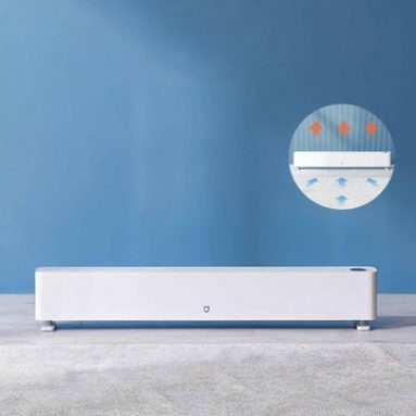 €176 with coupon for Xiaomi Mijia Intelligent Baseboard Heater Touch Screen Control 900W/1300W/2200W Three-speed Power Regulation for Home Office from BANGGOOD
