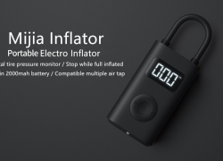 €47 with coupon for Xiaomi Mijia MJCQ01QJ Digital Tire Electric Inflator Pump from GEARVITA