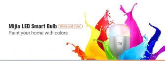 12 s kupónom pre Yeelight MJDP02YL 10W RGB E27 220 - 240V LED Smart Bulb (Xiaomi Ecosystem Product) - Platinum EU sklad od spoločnosti GEARBEST