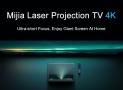 $ 1899 Xiaomi Mijia MJJGTYDS01FM लेजर प्रोजेक्टर प्रोजेक्शन टीवी 4K के लिए कूपन के साथ GEARBEST