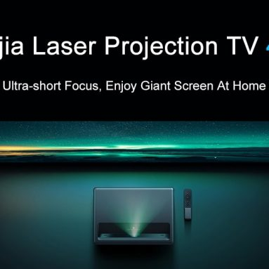 €1689 with coupon for Xiaomi Mijia MJJGTYDS01FM TV Laser HDR TV 4K Projector (FREE GIFT TV BOX) from BANGGOOD
