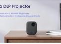 € 355 với phiếu giảm giá cho Xiaomi Mijia MJJGTYDS02FM Máy chiếu DLP Full HD 1080P 30000 LED Life Wifi bluetooth cho điện thoại Âm nhạc máy tính 3D Phim từ BANGGOOD