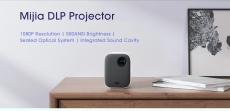 € 350 med kupong for Xiaomi Mijia MJJGTYDS02FM DLP projektor Full HD 1080P 30000 LED-liv Wifi bluetooth For Telefon Computer Music 3D Movie from BANGGOOD