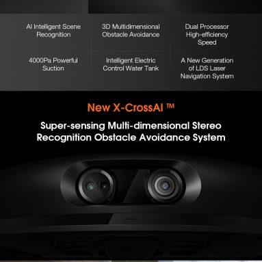 426 € cu cupon pentru Aspirator robot Xiaomi Mijia MJSTS1 Pro din depozitul EU CZ BANGGOOD