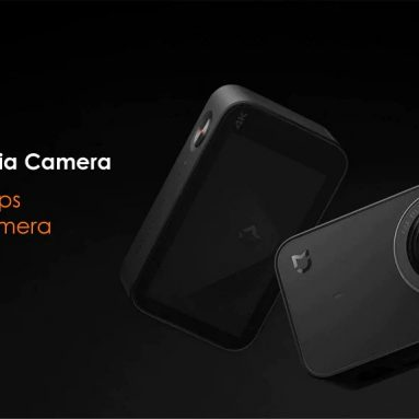 84 avec coupon pour Xiaomi Mijia Mini 4K Version 30fps Action Camera de Global de GEARVITA