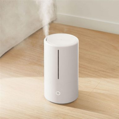 €49 with coupon for Xiaomi Mijia SCK0A45 Intelligent Sterilization Humidifier with 4.5L Large Capacity Water Tank UV-C Instant Sterilization Humidifier-White EU CZ WAREHOUSE from BANGGOOD
