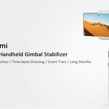 €69 with coupon Xiaomi Mijia SJYT01FM Handheld Gimbal Stabilizer 3 Axis from GEARVITA