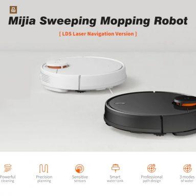 319 $ με κουπόνι για Xiaomi Mijia STYTJ02YM 2 σε 1 Σκούπισμα ρομπότ σκούπα ηλεκτρική σκούπα EU GERMANY WAREHOUSE από την GEARBEST