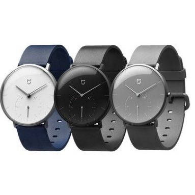 €50 with coupon for Xiaomi Mijia SYB01 Quartz Watch from BANGGOOD