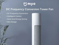 €135 Mijia BPTS01DM DC周波数変換タワーファン22W 100ギア風速計時機能付きクーポン付きBANGGOODの低ノイズMijia APPコントロール