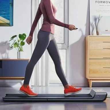 €320 with coupon for Xiaomi Mijia Smart Folding Walking Pad Non-slip Sports Treadmill Running Walking Machine from BANGGOOD