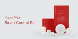 $ 45 s kupónem pro Xiaomi Mijia 5 v 1 Smart Home Security Kit s bezdrátovým přepínačem PIR Motion Sensor Multifunkční sada brány od GEARVITA