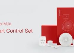 $ 45 dengan kupon untuk Xiaomi Mijia 5 di 1 Smart Home Security Kit dengan Wireless Switch PIR Motion Sensor Multifungsi Gateway Set dari GEARVITA