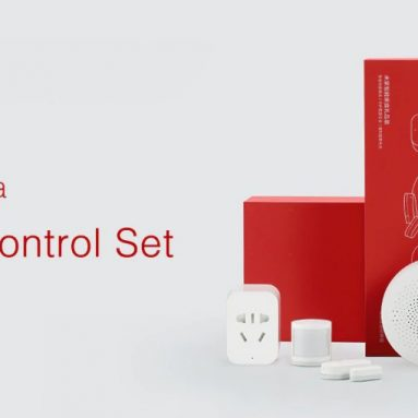 $ 45 con coupon per Xiaomi Mijia 5 in 1 Smart Home Security Kit con switch wireless PIR Motion Sensor Set di gateway multifunzione da GEARVITA