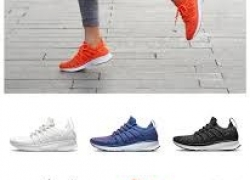 €39 with coupon for Xiaomi Mijia Sneakers 2 Men Techinique New Fishbone Lock System Sport Running Shoes Sneakers from BANGGOOD