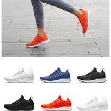 €43 with coupon for Xiaomi Mijia Sneakers 2 Men Techinique New Fishbone Lock System Sport Running Shoes Sneakers from BANGGOOD