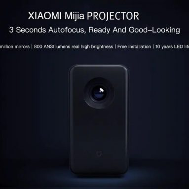 $599 with coupon for Xiaomi Mijia TYY01ZM DLP 3500 Lumens Quad-core Projector from GEARBEST