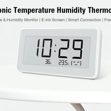 $13 with coupon for Xiaomi Mijia Temperature Humidity Monitoring Meter from GEARBEST