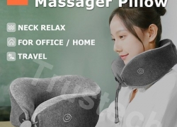 €23 with coupon for Xiaomi Multi-function U-shaped Massage Neck Pillow from BANGGOOD