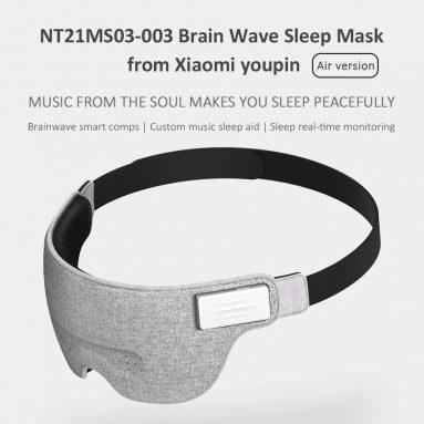 $ 42 कूपन के साथ Xiaomi NT21MS03-003 एयर ब्रेन वेव स्लीप आइड आई मास्क GEARVITA से