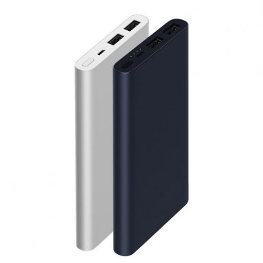 € 17 na may kupon para sa Xiaomi Bagong 10000mAh Power Bank 2 Dual USB 18W Quick Charge 3.0 Charger para sa Mobile Phone mula sa EU CZ / CN warehouse BANGGOOD