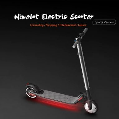 €353 with coupon for Ninebot Segway ES2 Folding Electric Scooter from Xiaomi Mijia – BLACK EU warehouse from GearBest