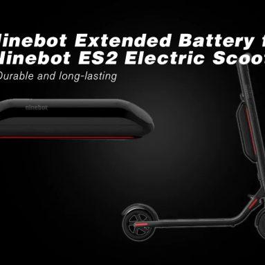 $ 199 với phiếu giảm giá cho Pin mở rộng Xiaomi Ninebot cho Xe tay ga điện Ninebot ES2 từ GEARBEST