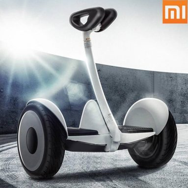 €227 with coupon for Original Xiaomi Ninebot 700W Balance Stand up Electric Scooter – White from BANGGOOD