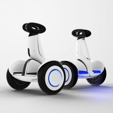 $ 557 s kupónem pro Xiaomi N4M340 Ninebot Plus Electric 11 palcový Self Balancing Scooter - WHITE od GearBest