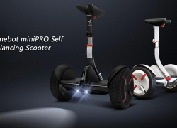 $499 with coupon for Xiaomi Ninebot miniPRO 10.5 inch 2-wheel Self Balancing Scooter – BLACK from GearBest