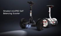 $489 with coupon for Xiaomi Ninebot N3M320 miniPRO 10.5 inch 2-wheel Self Balancing Scooter – BLACK from GearBest