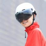 28 € s kuponom za Xiaomi Niuxiaoge CityCycling kacigu Lagana prozračna biciklistička sportska kaciga E-bicikl Bicikl Električni skuter Balance Biciklističke kacige s naočalama - Crna leća od BANGGOOD