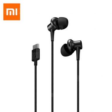 $ 46 con coupon per cancellazione del rumore Xiaomi Auricolari in-ear Tipo C - NERO da GearBest