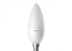 $ 9 dengan kupon untuk Xiaomi Philips Zhirui Lampu LED Cerdas E14 Candle Lamp 220 - 240V - SCRUB WHITE dari GearBest