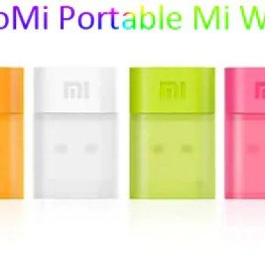 Xiaomi Pocket 6Mbps USB150 Mi WiFi 어댑터 무선 라우터 여행 용품 - GearBest의 BLACK이있는 $ 2.0