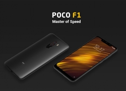 €258 with coupon for  Xiaomi Pocophone F1 4G Phablet Global Version 6GB RAM 64GB ROM – SLATE BLUE from GearBest