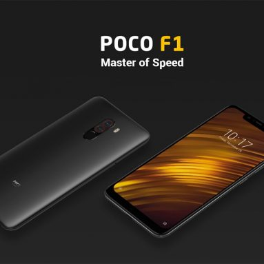 €281 with coupon for Xiaomi Pocophone F1 Global Version 6GB 64GB Smartphone from BANGGOOD