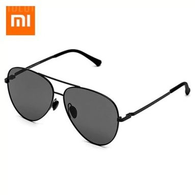 $19 with coupon for Xiaomi Polarized Pilot Sunglasses  –  GRAY from GearBest
