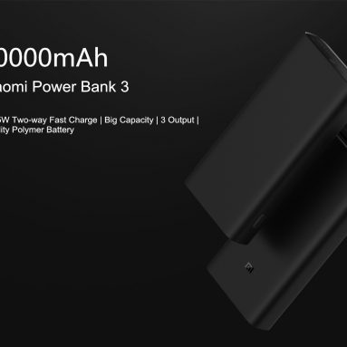 €32 with coupon for Xiaomi Power Bank 3 Pro 20000mAh USB-C Two-way 45W QC3.0 Fast Charge Power Bank for Mobile Phone from BANGGOOD