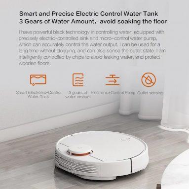 € 353 s kuponom za robotski usisavač Xiaomi Pro Rototic Usisavač za čišćenje podova Mopping Robot 2100Pa Strong Usisavanje App Control NJEMAČKA SKLADIŠTA od TOMTOP