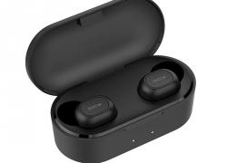 € 18 med kupon til [bluetooth 5.0] Xiaomi QCY T2C Mini TWS Øretelefon HiFi Magnetisk Bilateral Opkald Auto Parring Stereo Vandtæt Hovedtelefon - Sort fra BANGGOOD