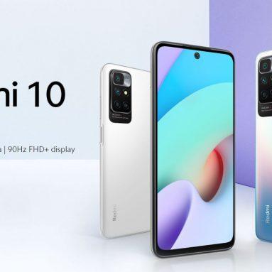 169 € cu cupon pentru Xiaomi Redmi 10 4GB + 128GB NFC Smartphone versiunea UE - 50MP AI Quad Camera MediaTek Helio G88 Octa Core 90Hz FHD Display 5000mAh Baterie din depozitul UE EDWAYBUY