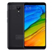 $110 with coupon for Xiaomi Redmi 5 4G Phablet 2GB RAM Global Version  –  BLACK from Gearbest
